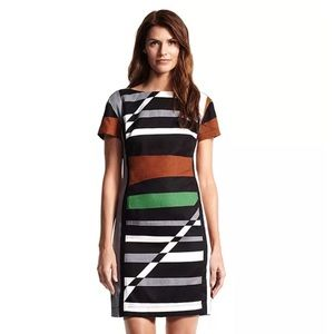 Derek Lam for DesigNation striped sheath dress 4 S